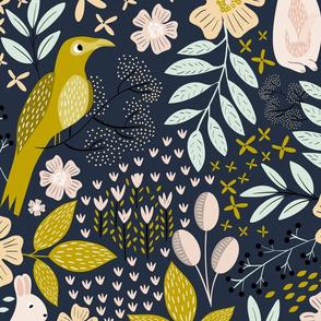 Woodland Flora - Wallpaper