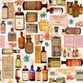 Marijuana Medicine Rx 10.5 x 10.5