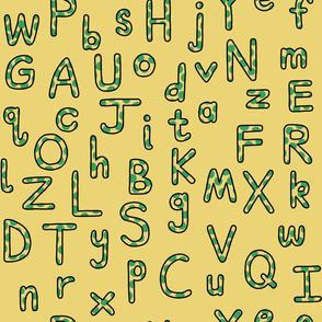 Lively Splotch Alphabet