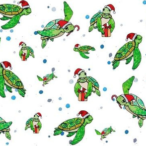 Holiday Sea Turtles