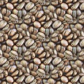 Coffee Beans | Seamless Photo Print