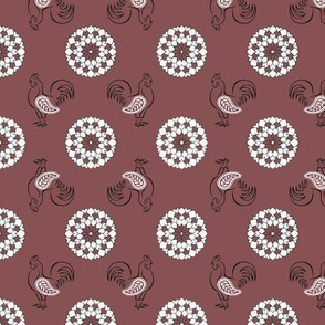 Rooster's Plum Kerchief | Ripe Figs