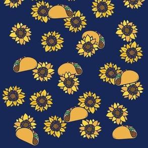 Taco Tuesday Sunflowers