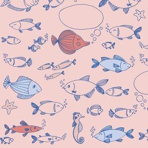 Little fish in the sea