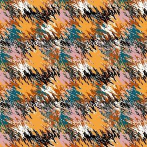 Brush Stroke Fall Tale of colour palette