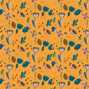 little-paradise-bird-pattern