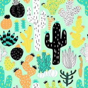 8076965-cactus-crazy-mint-large-scale-by-elliottdesignfactory