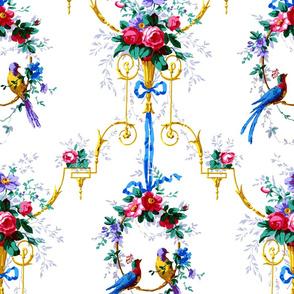 McCallister Toile  ~ Bright Birds