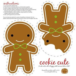 Cookie Cute Christmas Ornament