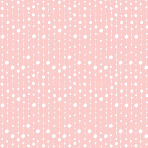 Print 4 coordinate bubble repeat autumn winter 2018-2019 girl white and pink background 150 dpi