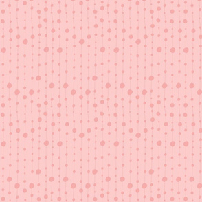 Print 8 coordinate bubble repeat autumn winter 2018-2019 girl pink and pink background 150 dpi