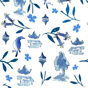 Chinoiserie by Anna
