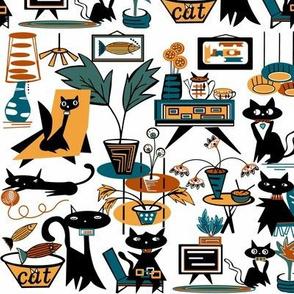 What cats do ..when you're  not home sewindigo