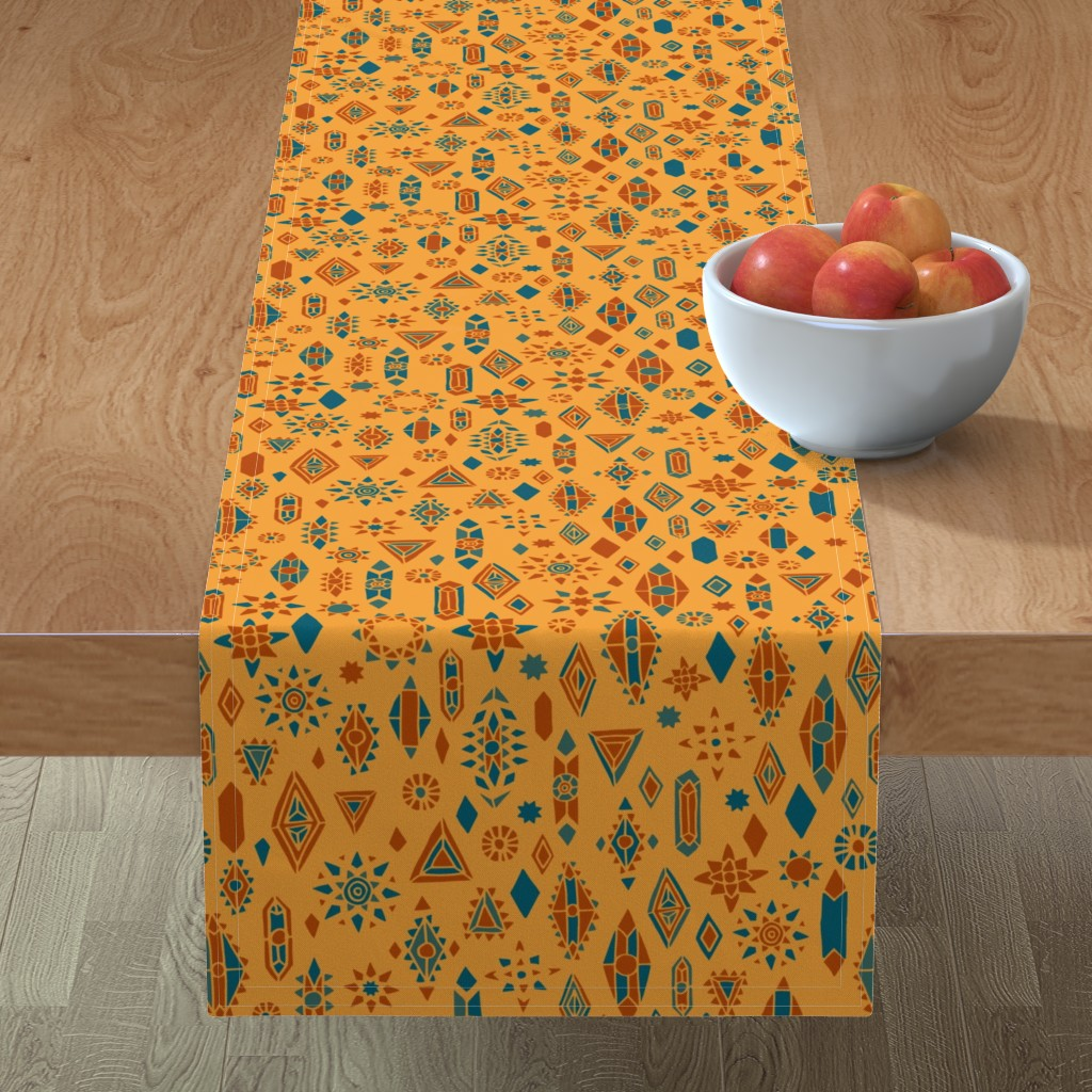Minorca Table Runner featuring Southwest Boho by leiah