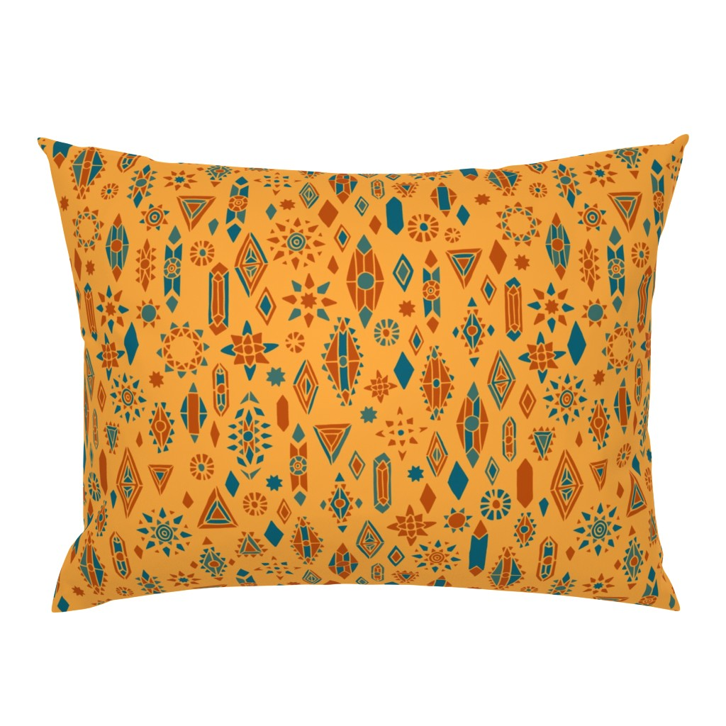 Campine Pillow Sham featuring Southwest Boho by leiah