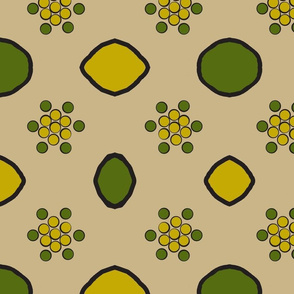 Green and Chartreuse Reps- Lemons and Limes