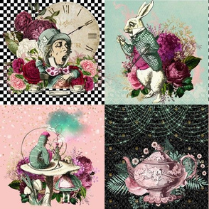 Wonderland Awaits Patchwork