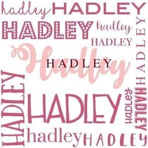 Hadley Personalized Design