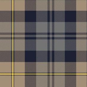 "Gordon Highlanders tartan, 14"" weathered"