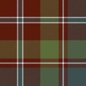 "MacDonald of Glenladale tartan, 8"" muted"