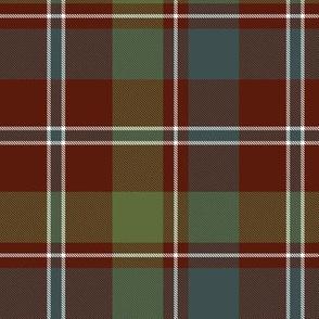 "MacDonald of Glenladale tartan, 6"" muted"