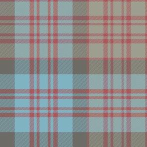 "MacDonald tartan variant, 8"" faded"