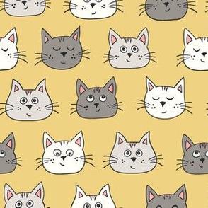cute kittens - yellow