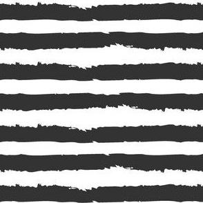 Obsessive Stripe Disorder - Black and White Multi-Color Stripe