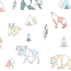 Nordic forest animals