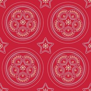 Parol Hanging Ornament (Red)