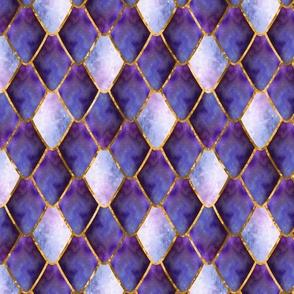 Purple Opal Galaxy Gemstone Dragon Scales