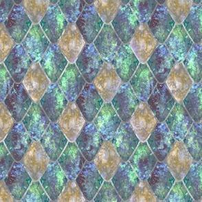Mermaid Opal Gemstone Dragon Scales