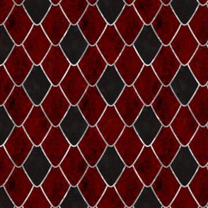 Crimson Snake Gemstone Dragon Scales