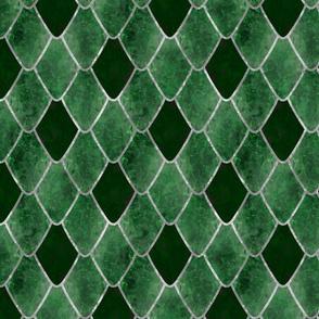Emerald Snake Gemstone Dragon Scales