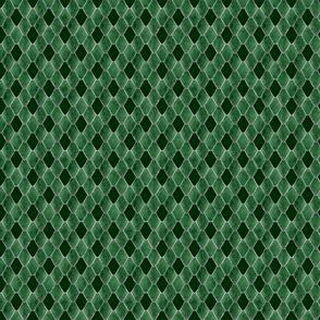 Small Emerald Snake Gemstone Dragon Scales