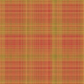 Red Gold Green Plaid