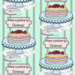 Pavlova-ly Christmas - mint