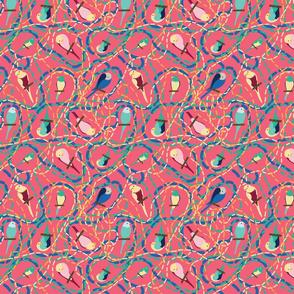 Parrots Salmon