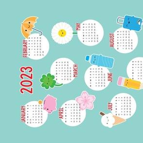 2021 Kawaii Life Calendar