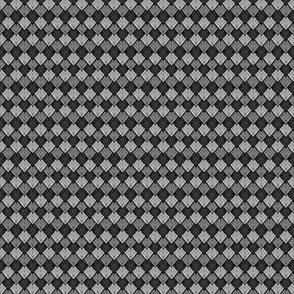 Dragon Scales - Black White