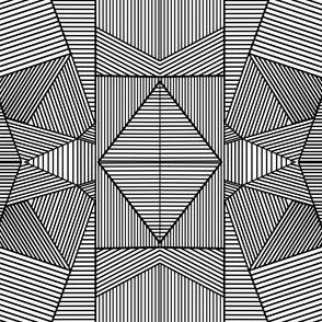Crazy Black Lines