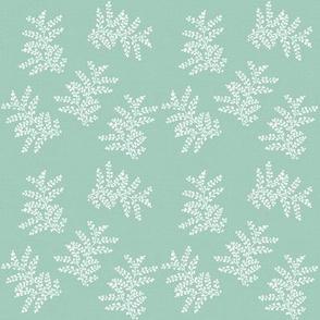 Delicate Fern Soft Sage Green