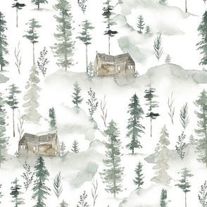 House in Forest / Wild Pinery