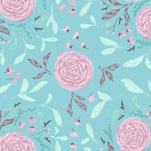 Floral Garden Party Print