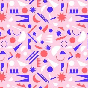 Geo Party - Pink