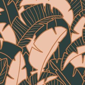 Into the Jungle - Emerald and Blush