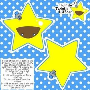 Twinkle-Twinkle Lil'Star ornament