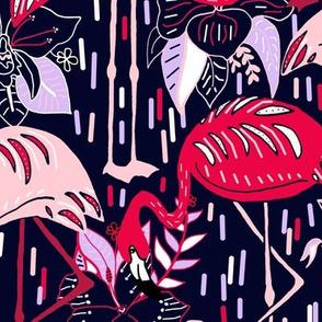 Fantasy Flamingos