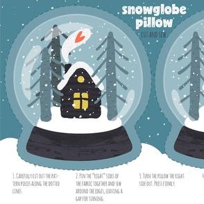 Snowglobe Pillow