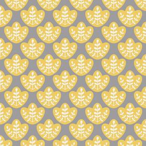 Scandinavian Flower Yellow